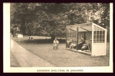 Covered Shelter in Grounds