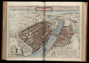 Civitates Orbis Terrarum Frankfurt