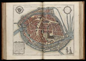 Civitates Orbis Terrarum Strasbourg