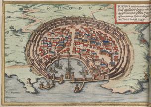 Civitates Orbis Terrarum Rhodes