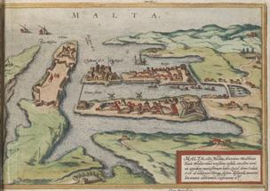 Civitates Orbis Terrarum Malta