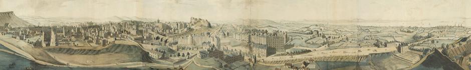 Robert Barker, Panorama of Edinburgh, 1792