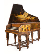 Triple Manual Harpsichord
